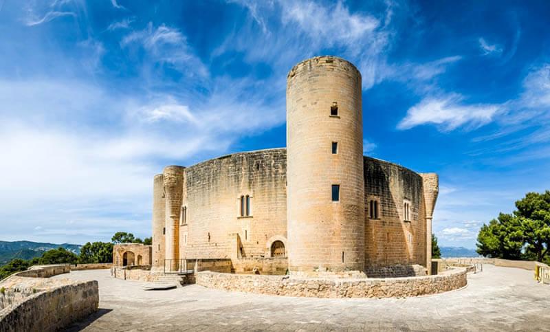 O que fazer em Maiorca: Castelo Bellver