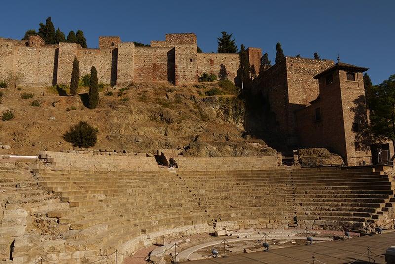 O que fazer em Malaga: Alcazaba