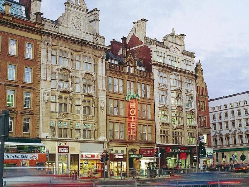 O que fazer em Manchester: Hotel