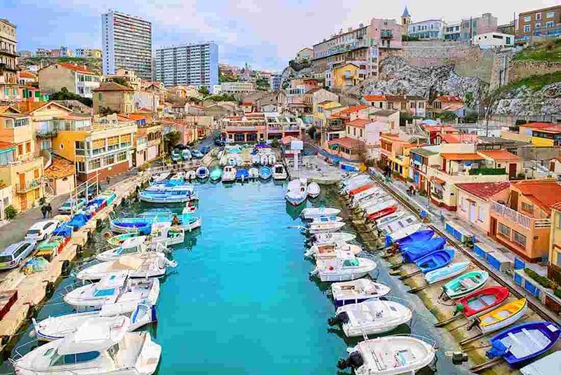 O que fazer em Marselha : Barco