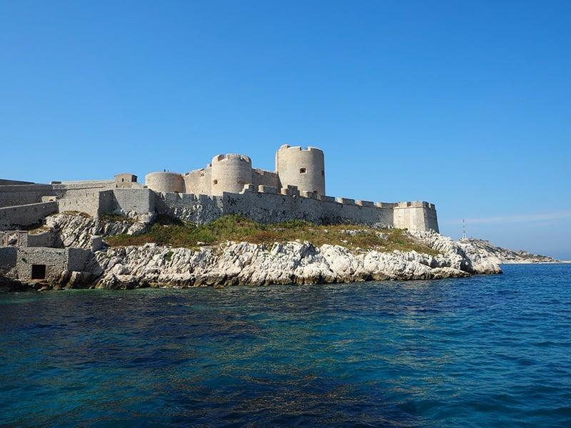 O que fazer em Marselha : Chateaus D'if