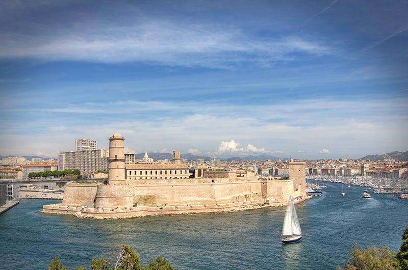 O que fazer em Marselha : Forte Saint Jean