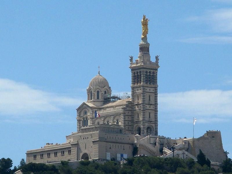 O que fazer em Marselha : Notre Dame