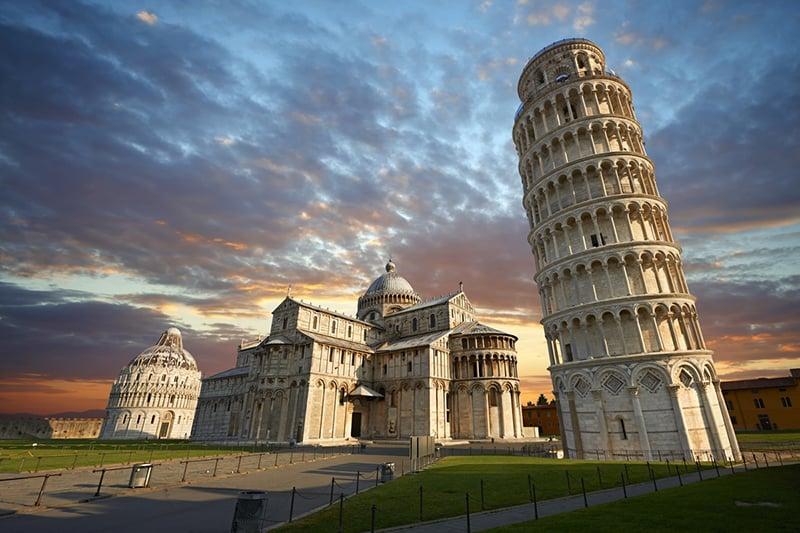 O que fazer em Pisa: Torre