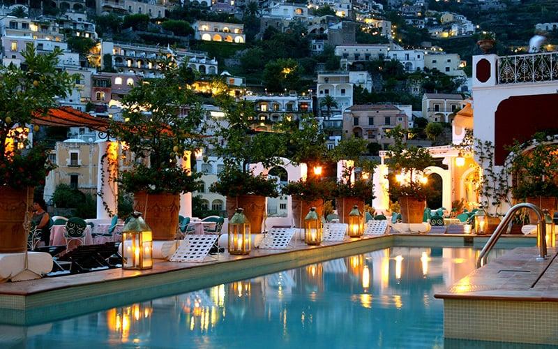 O que fazer em Positano: Hotel
