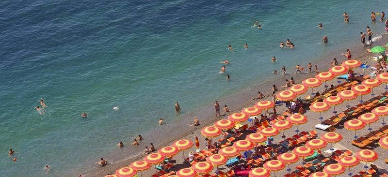 O que fazer em Positano: Praias