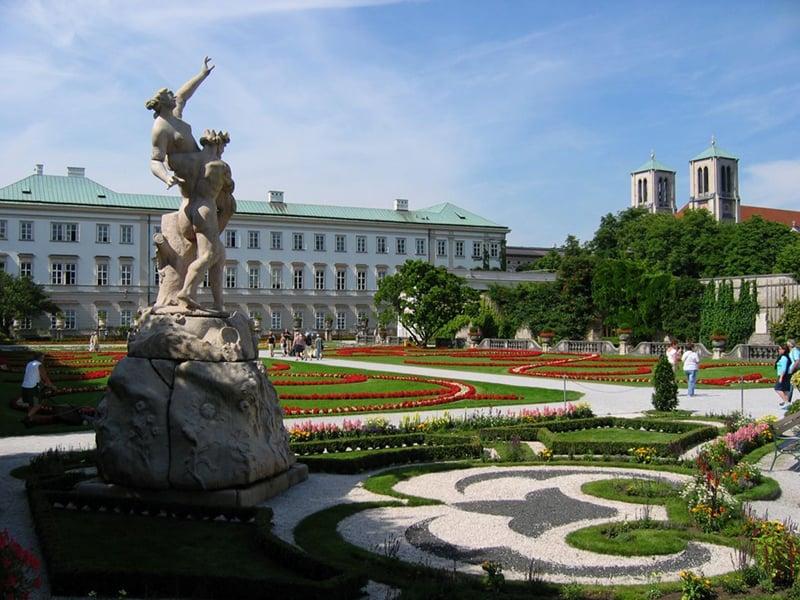O que fazer em Salzburgo: Palácio Mirabell