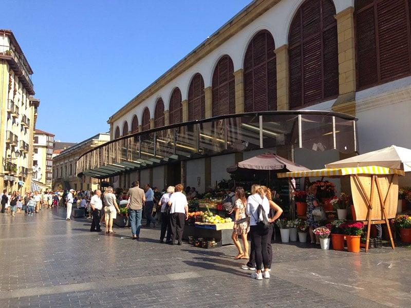 O que fazer em San Sebastián: Mercado de la Bretxa