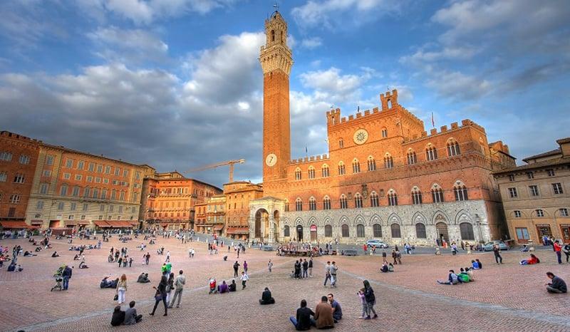 o que fazer em Siena; Piazza del Campo