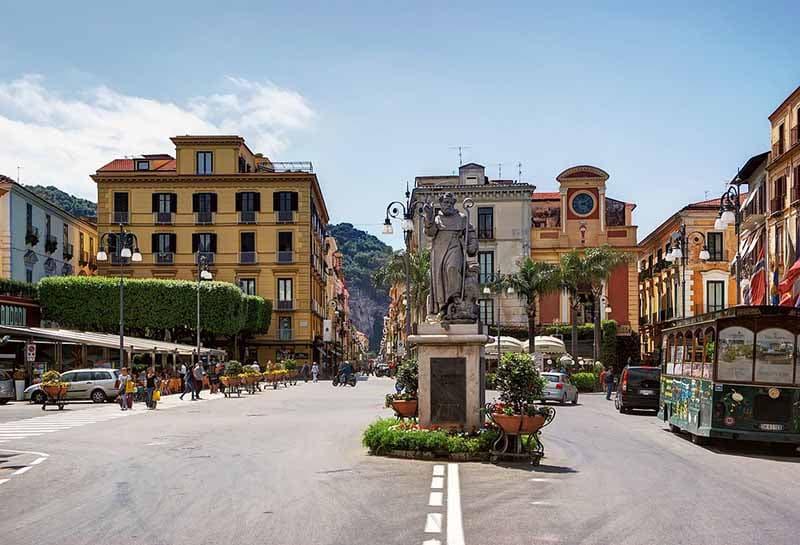 O que fazer em Sorrento: Piazza Tasso