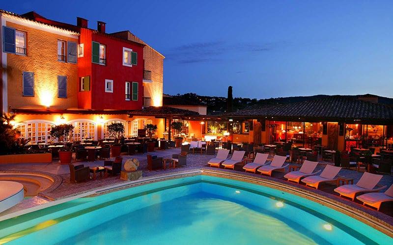 O que fazer em St. Tropez:Hotel