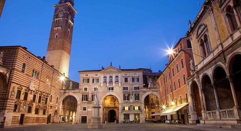 O que fazer em Verona: Piazza dei Signori