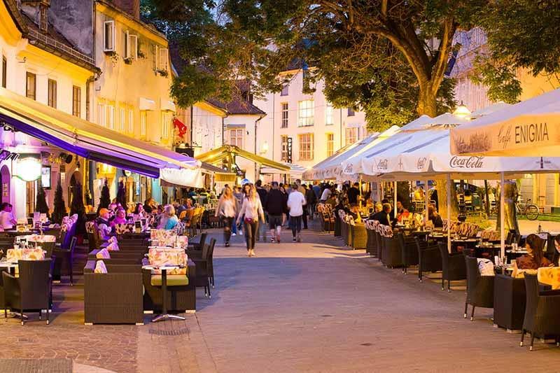 O que fazer em Zagreb: Rua Tkalčićeva