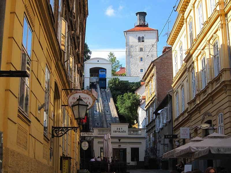 O que fazer em Zagreb: Torre Lotrščak