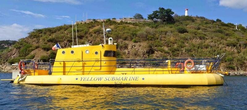 O Que Fazer em St. Barth: Yellow Submarine