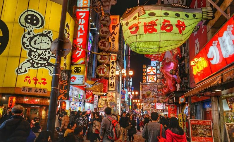 O Que Fazer em Osaka: Dotonbori