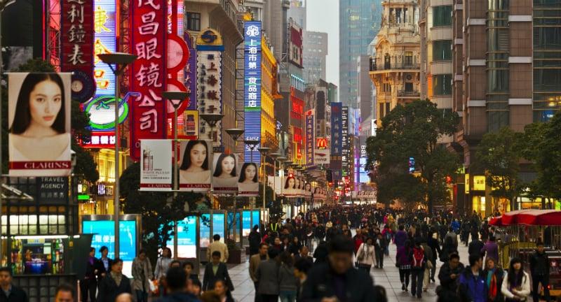 O Que Fazer em Shanghai: Nanjing Road
