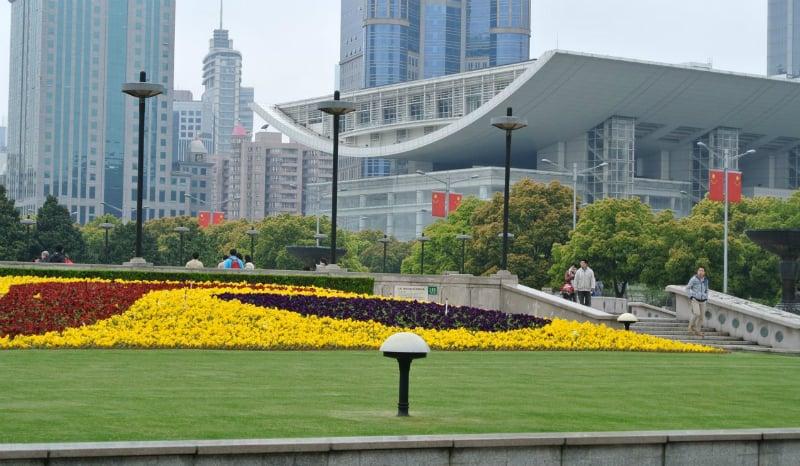 O Que Fazer em Shanghai: Praça do Povo
