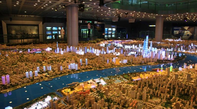 O Que Fazer em Shanghai: Shanghai Urban Planning Exhibition Hall