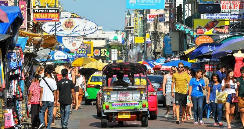O Que Fazer em Bangkok: Khao San Road