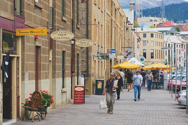 O que fazer em Hobart: Salamanca Square