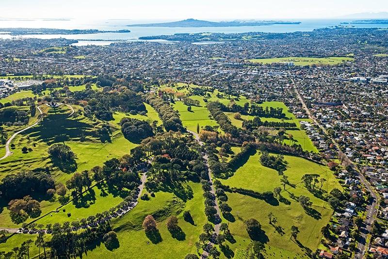 O que fazer em Auckland: Parque Cornwall