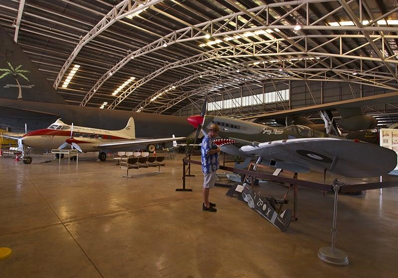 O que fazer em Darwin: Museu Darwin Aviation
