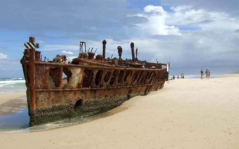 O que fazer na Ilha Fraser: Maheno Wreck