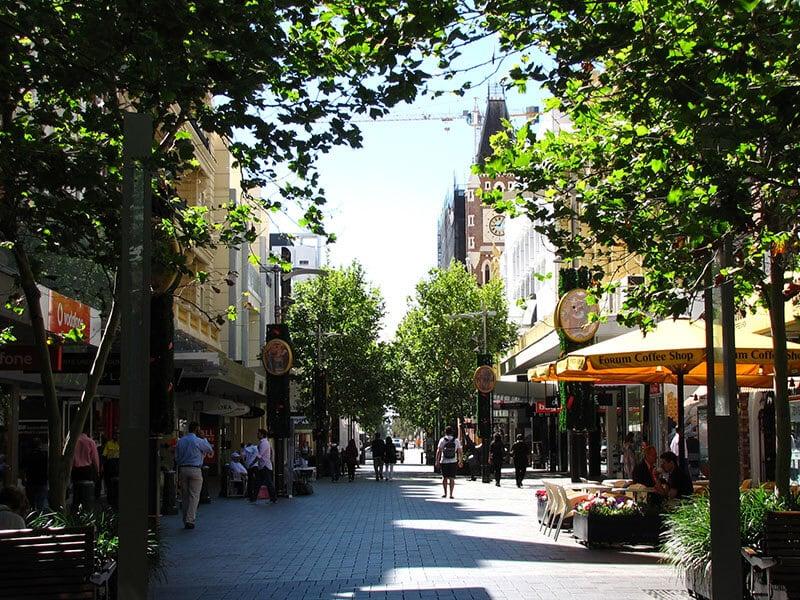 O que fazer em Perth: Hay Street