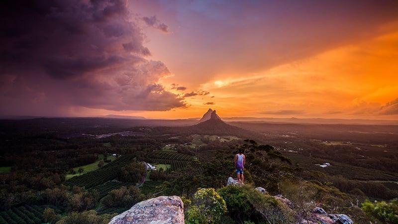 O que fazer em Sunshine Coast: Glass House Mountain