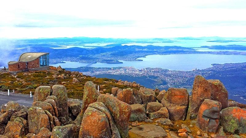 O que fazer na Tasmânia: Monte Wellington