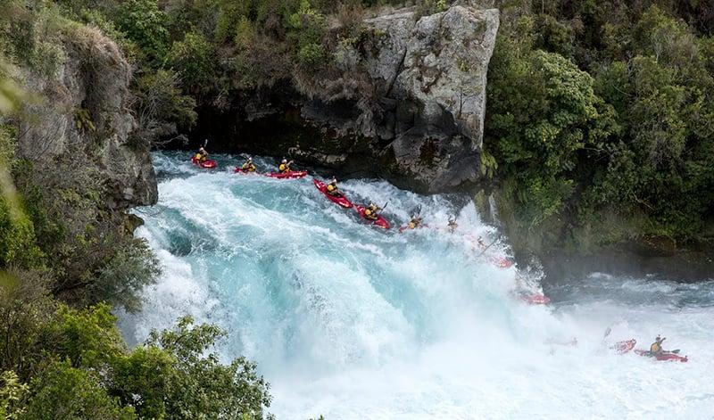 O que fazer em Taupo: Huka Falls