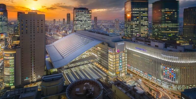 O Que Fazer em Osaka: Estação Central