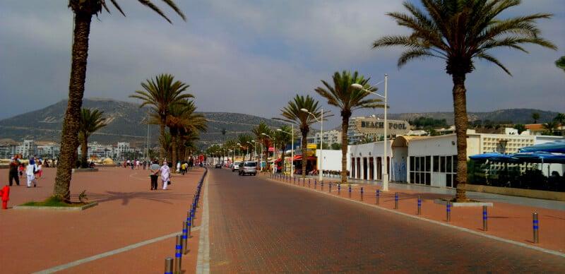 O Que Fazer em Agadir: Corniche