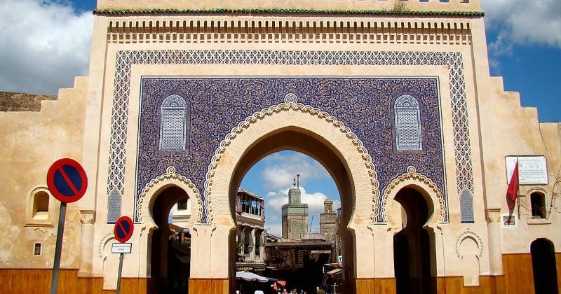 O Que Fazer em Fez: Bab Boujloud
