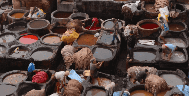 O Que Fazer em Fez: Curtume Chouara