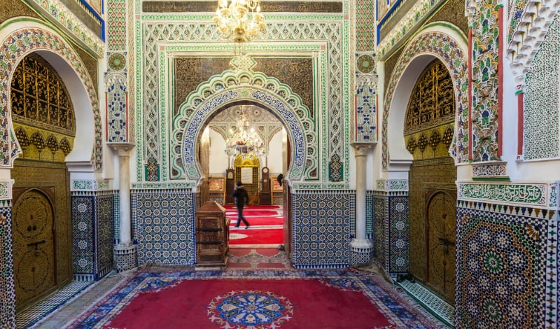 O Que Fazer em Fez: Templos