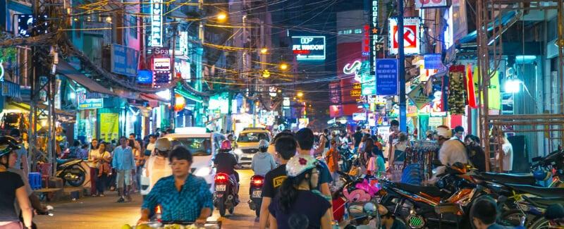 O Que Fazer em Ho Chi Minh City: Bui Vien Street