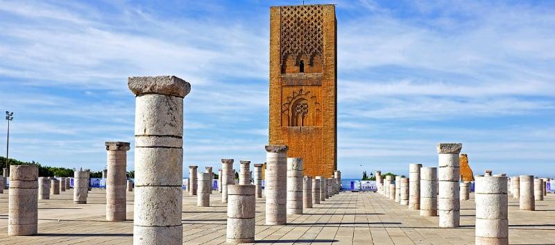 O Que Fazer em Rabat: Torre Hassan