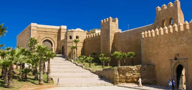 O Que Fazer em Rabat: Kasbah dos Oudaias