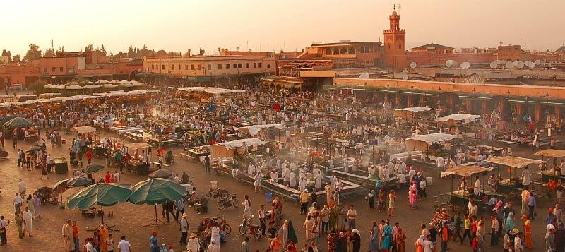 O Que Fazer em Marrakech: Jemaa el Fna