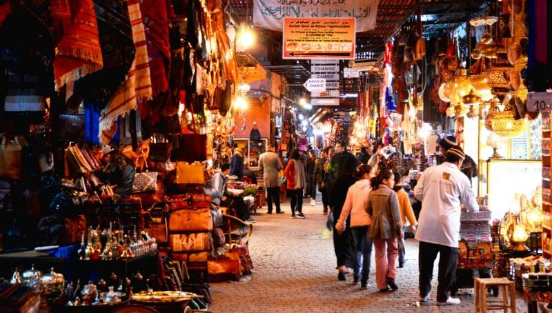 O Que Fazer em Marrakech: Souks