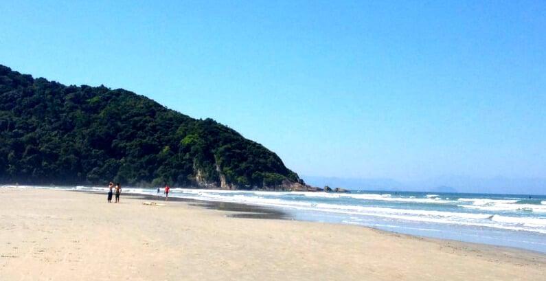 O Que Fazer em Guaratuba: Praia