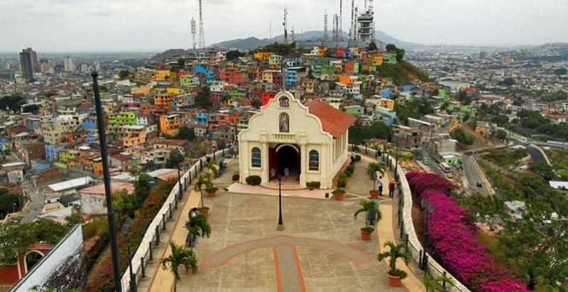 O Que Fazer em Guayaquil: Cerro Santa Ana