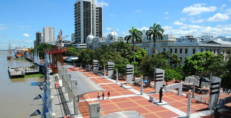 O Que Fazer em Guayaquil: Malecón 2000