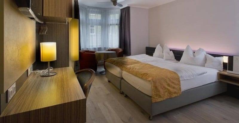 O Que Fazer em Leipzig: Hotel
