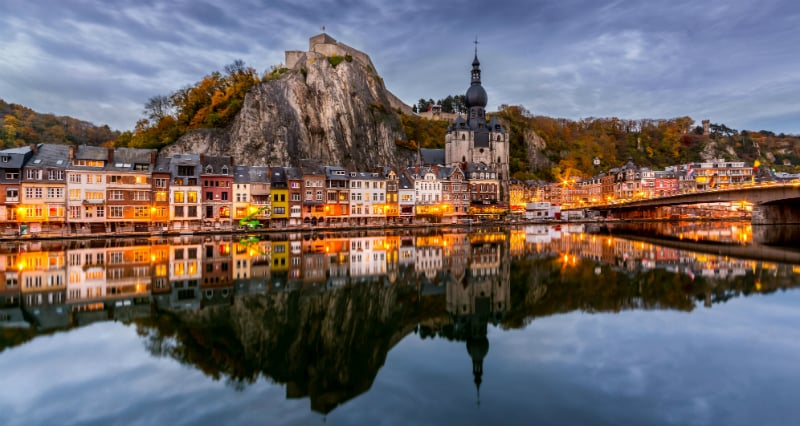 O Que Fazer em Namur na Bélgica