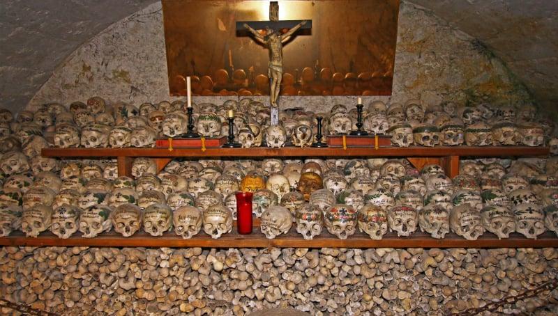 O Que Fazer em Hallstatt: Charnel House na Capela de Michael