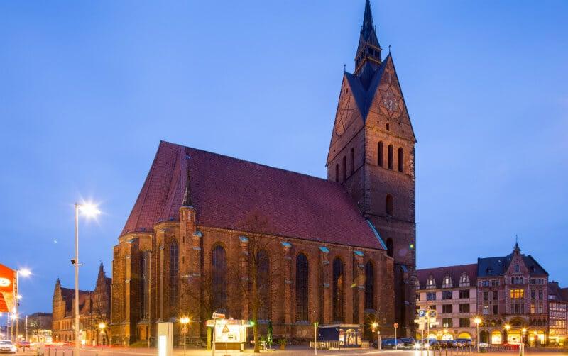 O Que Fazer em Hanôver: Marktplatz e Marktkirche